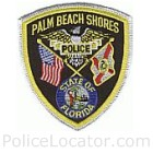 Palm Beach Shores Police Department Patch