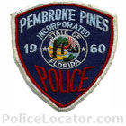 Pembroke Pines Police Department Patch