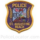 St. Augustine Beach Police Department Patch