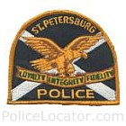 St. Petersburg Police Department Patch