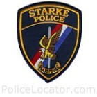 Starke Police Department Patch