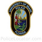 University of Miami Police Department Patch