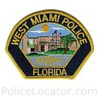 West Miami Police Department Patch