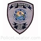 West Palm Beach Police Department Patch