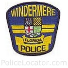 Windermere Police Department Patch