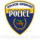 Winter Springs Police Department Patch