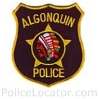 Algonquin Police Department Patch