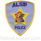Alsip Police Department Patch