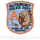 Altamont Police Department Patch