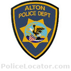 Alton Police Department Patch