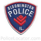Bloomington Police Department Patch