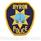 Byron Police Department Patch