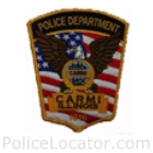 Carmi Police Department Patch