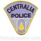 Centralia Police Department Patch