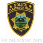 Clarendon Hills Police Department Patch