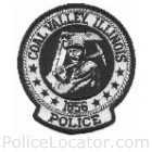 Coal Valley Police Department Patch