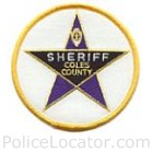 Coles County Sheriff's Office Patch