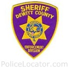 DeWitt County Sheriff's Department Patch