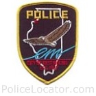 East Moline Police Department Patch