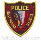 East Peoria Police Department Patch