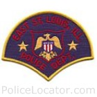 East St. Louis Police Department Patch