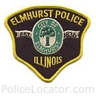 Elmhust Police Department Patch