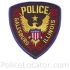 Galesburg Police Department Patch