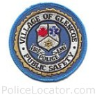 Glencoe Public Safety Department Patch