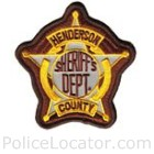 Henderson County Sheriff's Office Patch