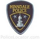 Hinsdale Police Department Patch