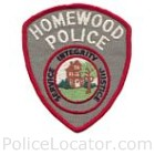 Homewood Police Department Patch