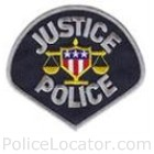 Justice Police Department Patch