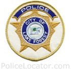 Lake Forest Police Department Patch