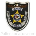 Lanark Police Department Patch