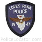 Loves Park Police Department Patch