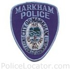 Markham Police Department Patch