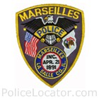 Marseilles Police Department Patch