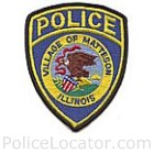 Matteson Police Department Patch