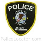 Metra Police Department Patch