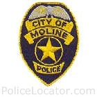 Moline Police Department Patch