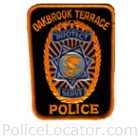Oakbrook Terrace Police Department Patch
