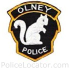 Olney Police Department Patch