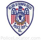 Olympia Fields Police Department Patch