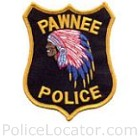 Pawnee Police Department Patch