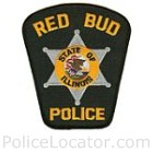 Red Bud Police Department Patch