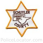 Schuyler County Sheriff's Office Patch