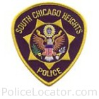 South Chicago Heights Police Department Patch