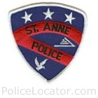 St. Anne Police Department Patch