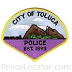 Toluca Police Department Patch