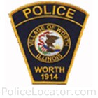 Worth Police Department Patch